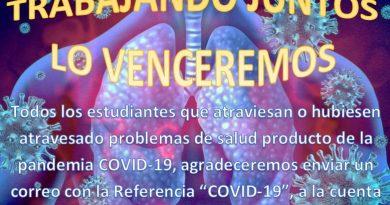 Campaña Solidaria Covid 19